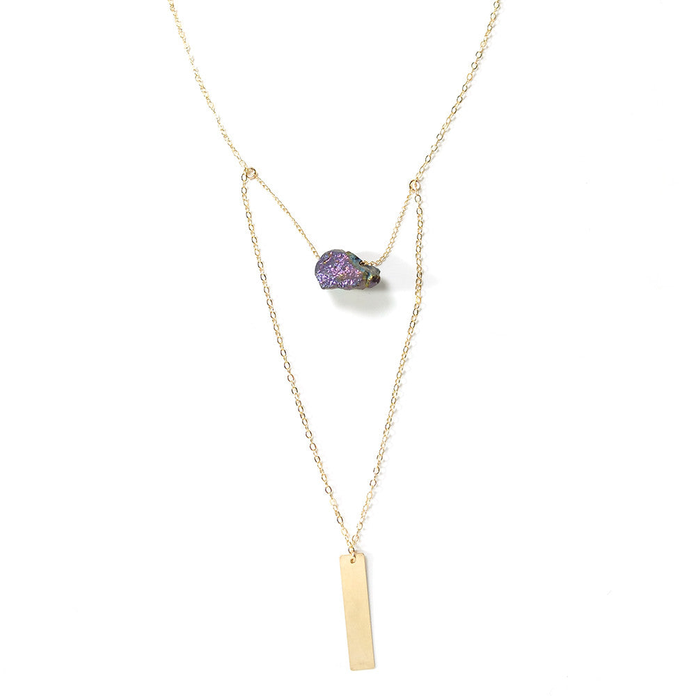 Sticks and Stone Necklace