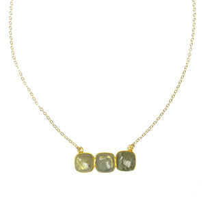 Stonehenge Necklace- Labradorite