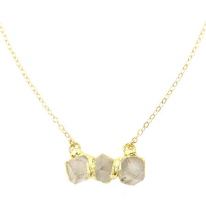 Stonehenge Necklace- Quartz