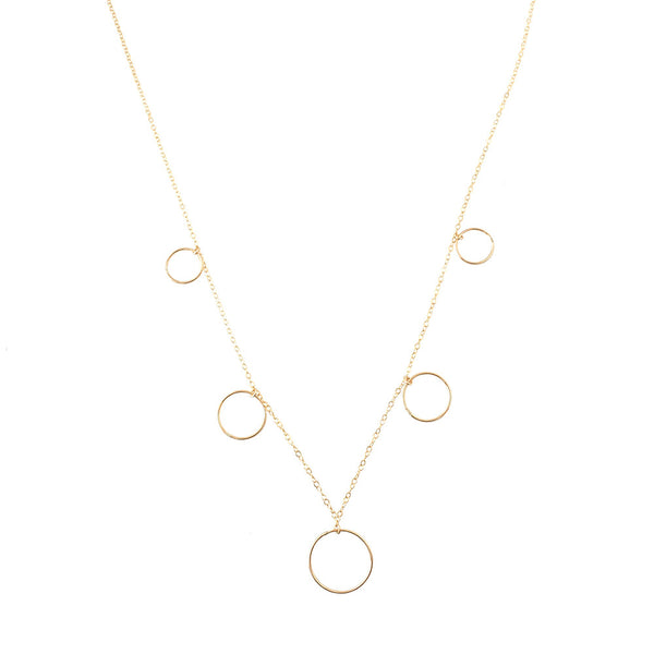 Selene Necklace- Circle