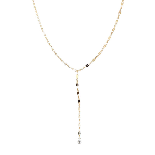 Shimmer CZ Necklace- More Shapes