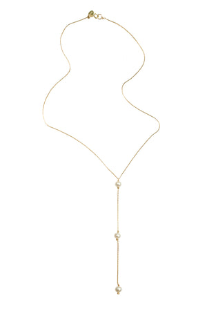 Rio Necklace- Pearl