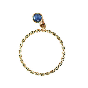 Gem Dangle Ring