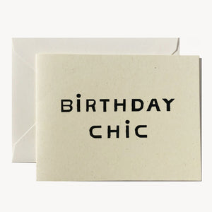 Birthday Chic Greeting Card CCD8