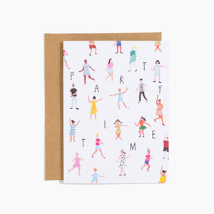 Party Time Greeting Card