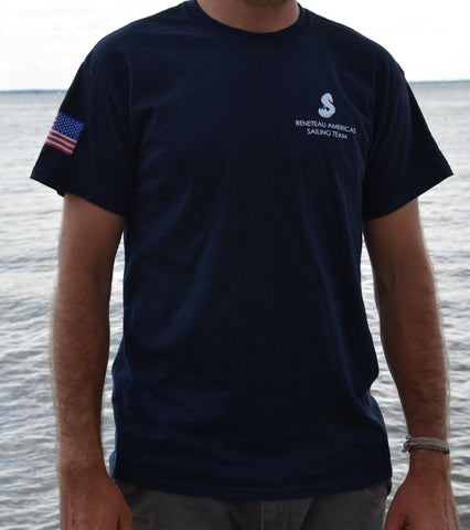 T-Shirt Beneteau Americas Sailing Team - Available
