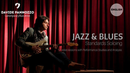 GUITAR COURSE: JAZZ AND BLUES STANDARDS SOLOING