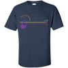 Neon Guitar - Custom Ultra Cotton T-Shirt