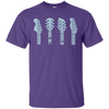 Guitar Headstock T Shirt (Left Handed)