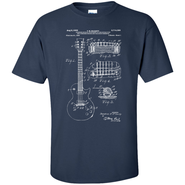 Les Paul Patent Print Shirt