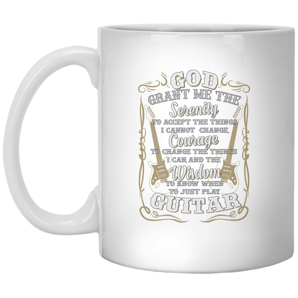 Just Play Guitar Coffee Mug