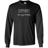 Music Always Helps Long Sleeve