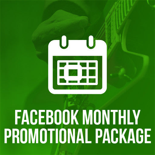 Facebook Monthly Promotional Promotion