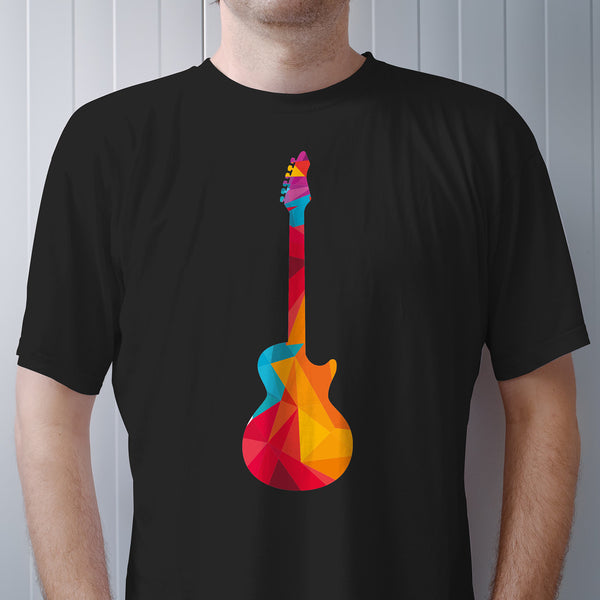 Guitar Mosaic T Shirt