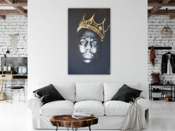 BIGGIE SMALLS by Chase Parker, 2019