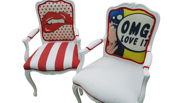 Pop Art Armchair - OMG