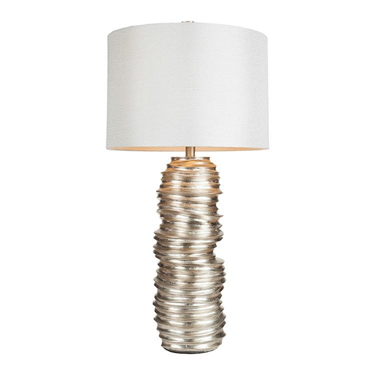 Surya lmp-1030 Silver stacked table lamp