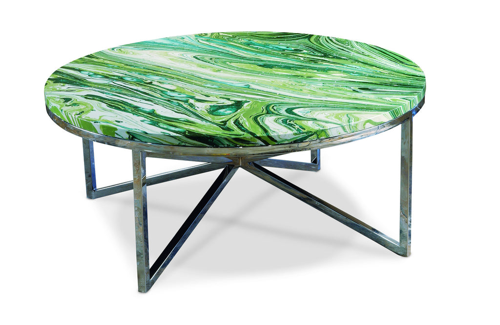 Graffiti Cocktail Table