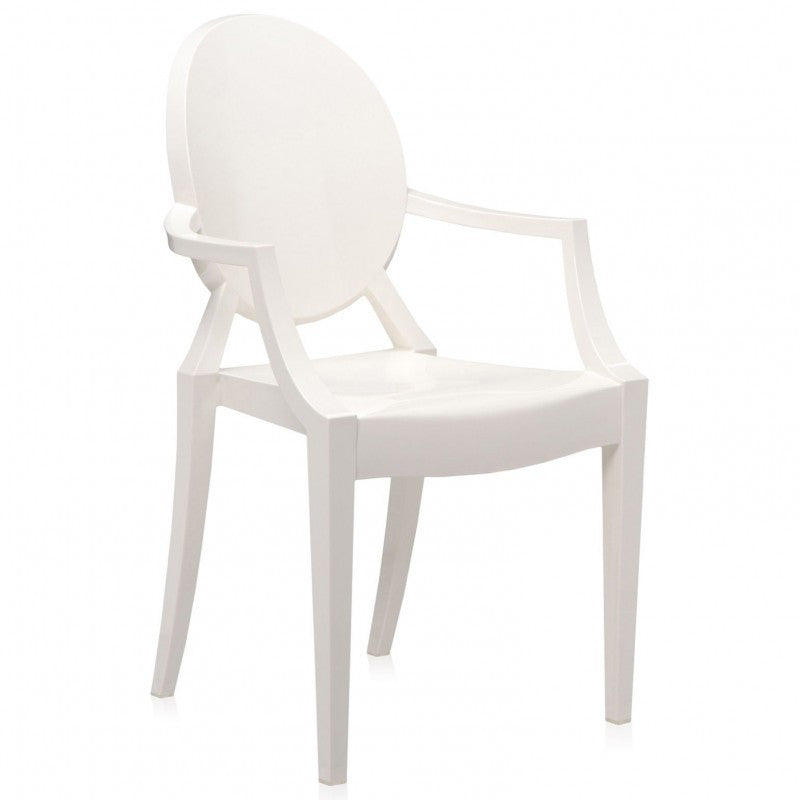 ... Louis Ghost Arm Chair   Pair