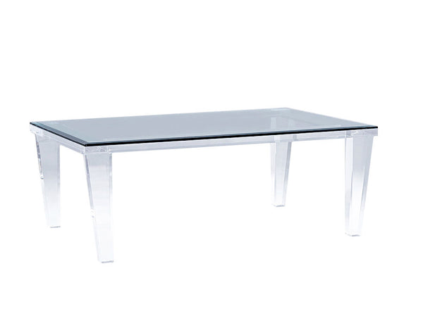 hollywood lucite table