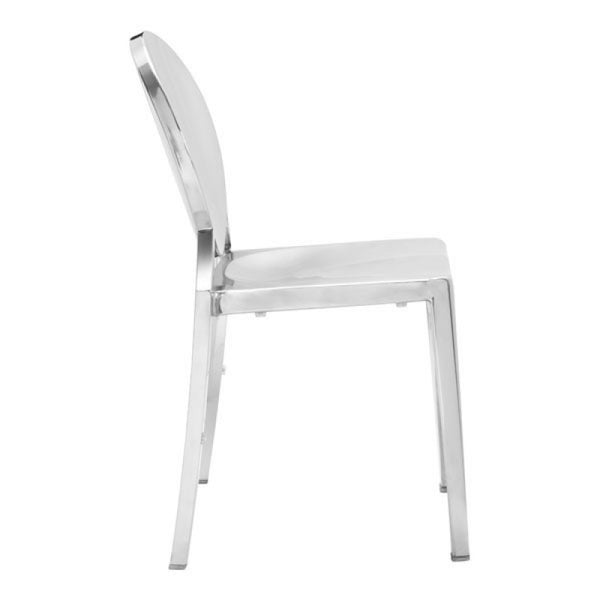 Glam Dining Chair - Silver
