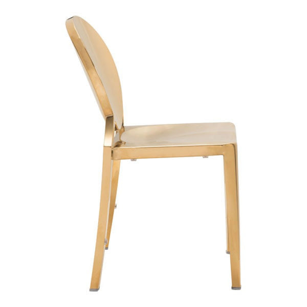 Glam Dining Chair - Gold