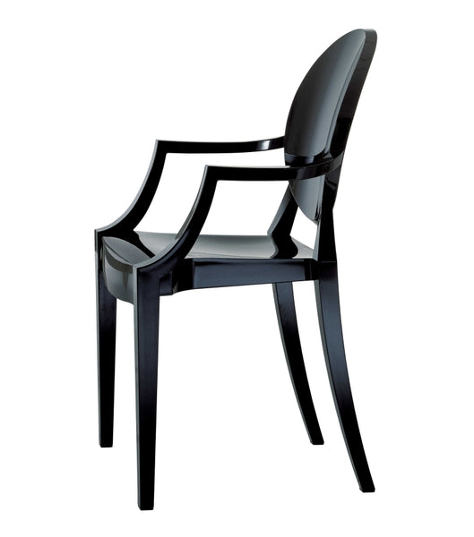 Louis Ghost Arm Chair - Pair - Choice of Color