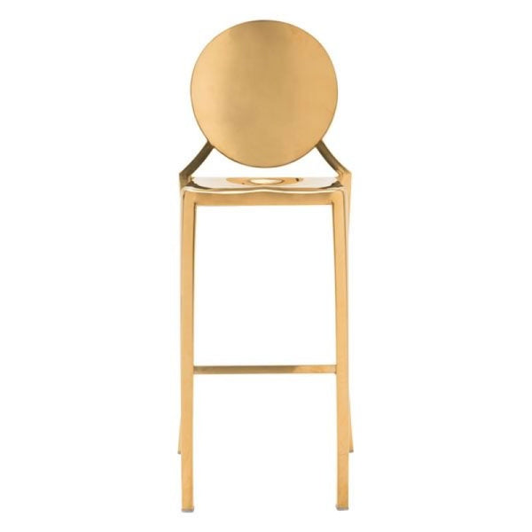 Glam Bar Stool - Gold