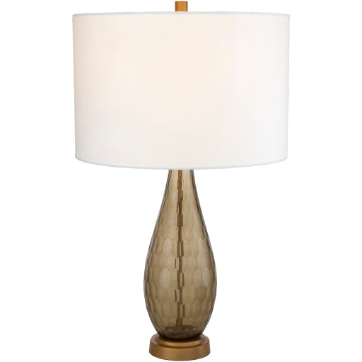 Glasshouse Table Lamp - Brown