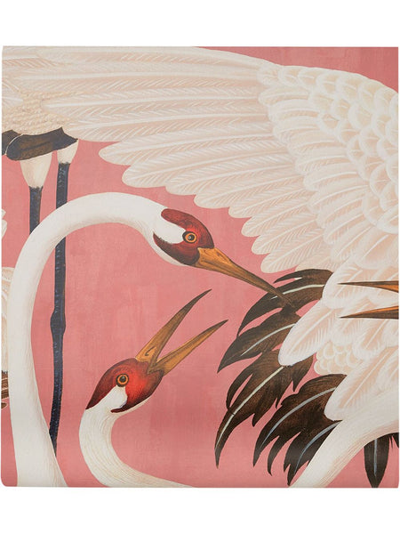 Gucci Heron Print Wallpaper - Pink