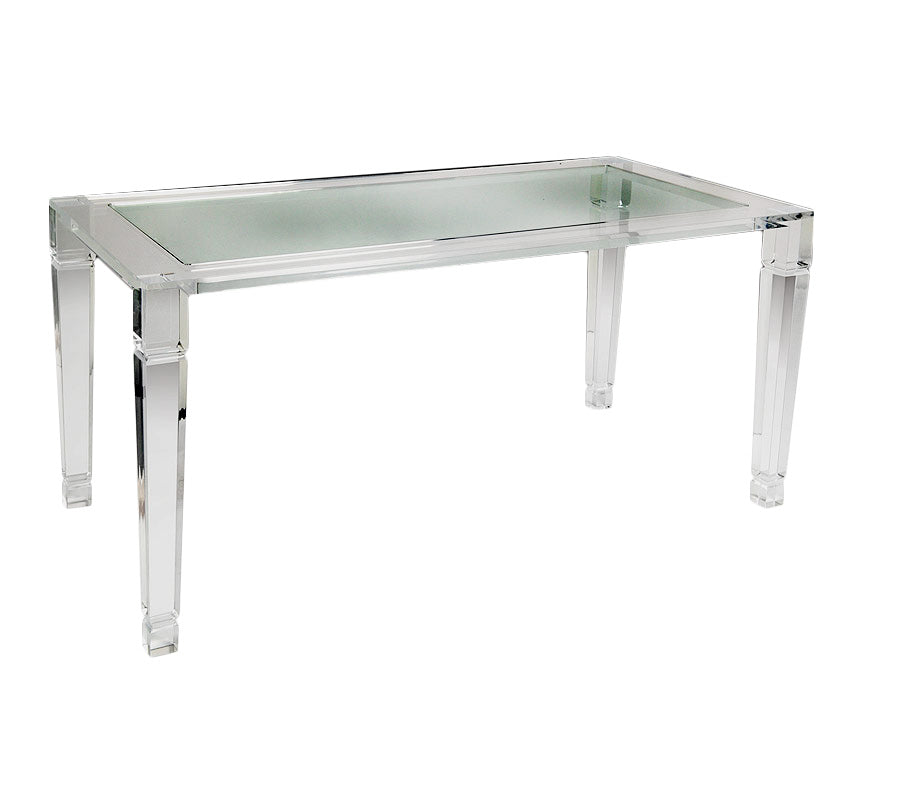 manhattan lucite dining table