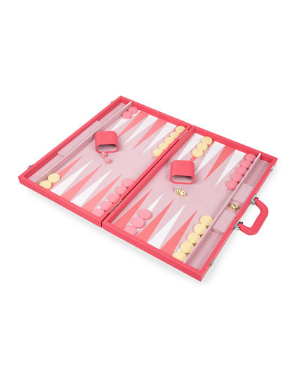 Backgammon Set - Pink