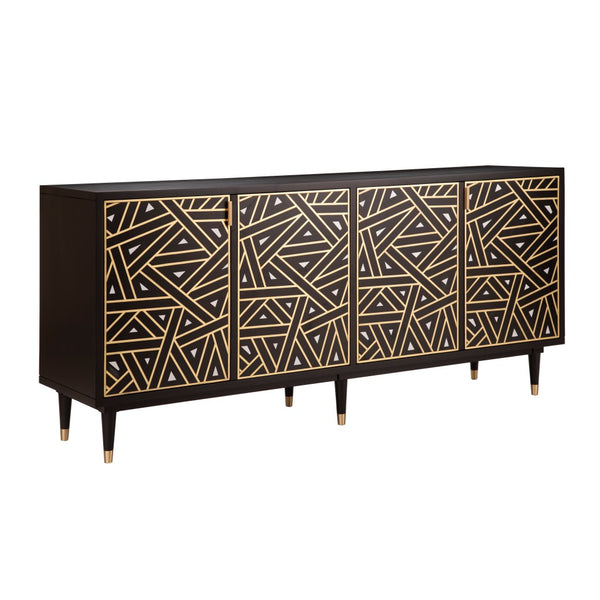Triangle Sideboard - Black