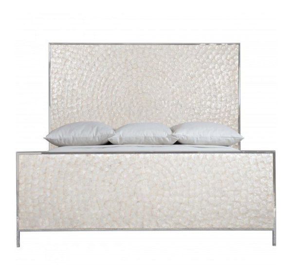 capiz shell bed