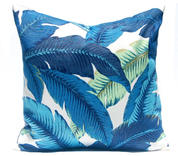 Tommy Bahama Swaying Palms Poof Ottoman - Choice of Fabric - 16""