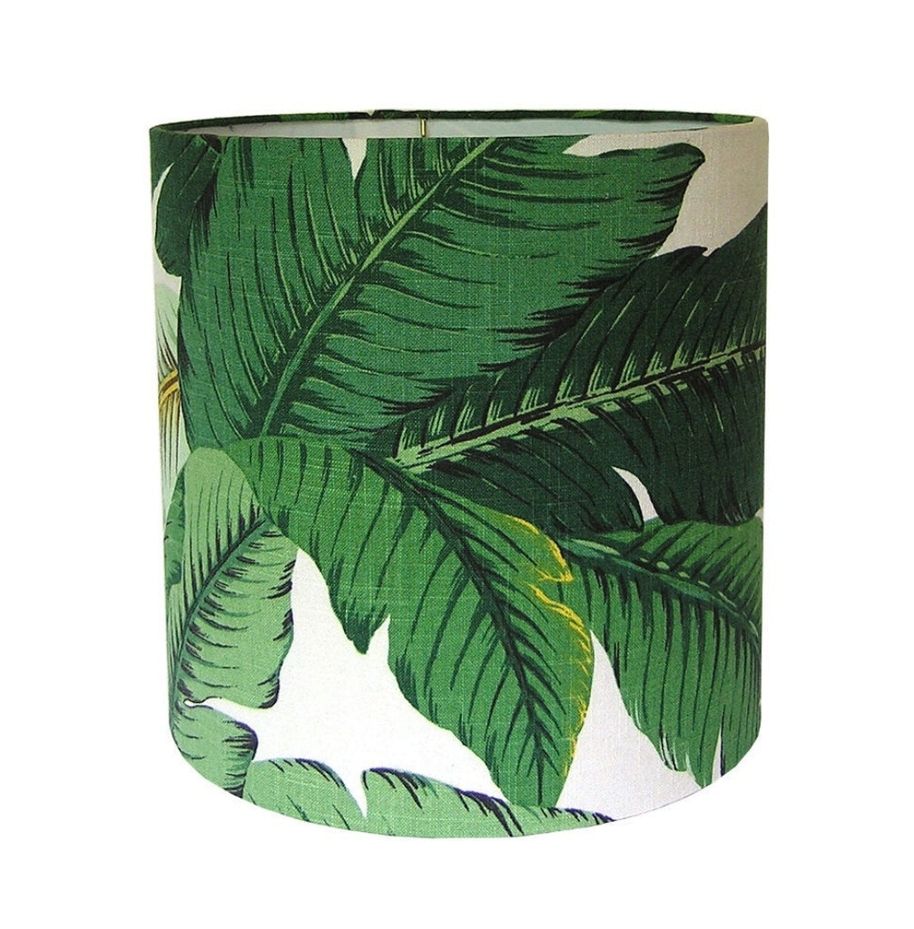 Isla Palms Drum Style Lamp Shade - Choice of Size