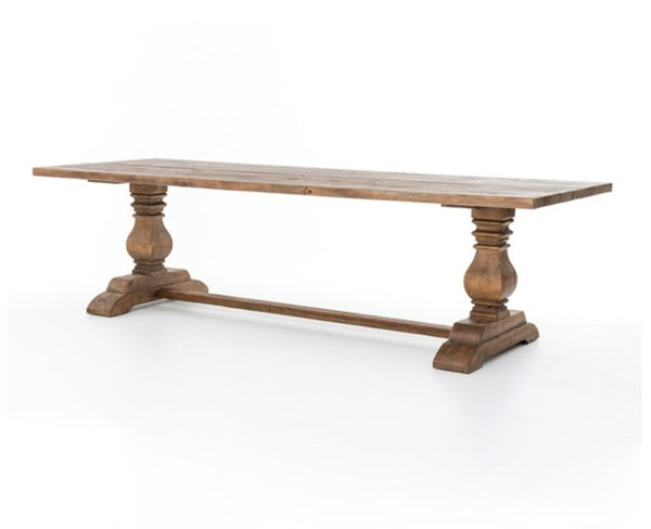 Durhan Trestle Dining Table - Choice of Size