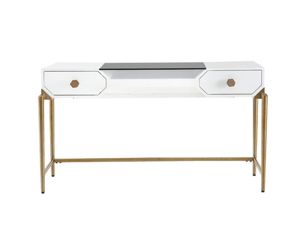 Bajo Desk - White Lacquer