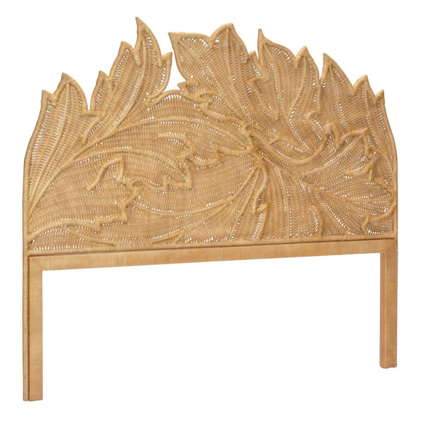 Acanthus Queen Headboard - Natural