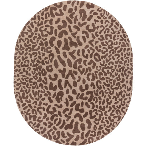 Leopard Rug - Brown