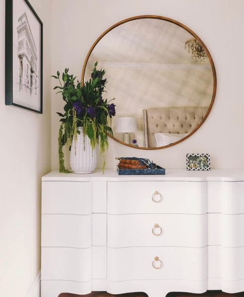 Bardot Extra Large 9 Drawer Dresser - White