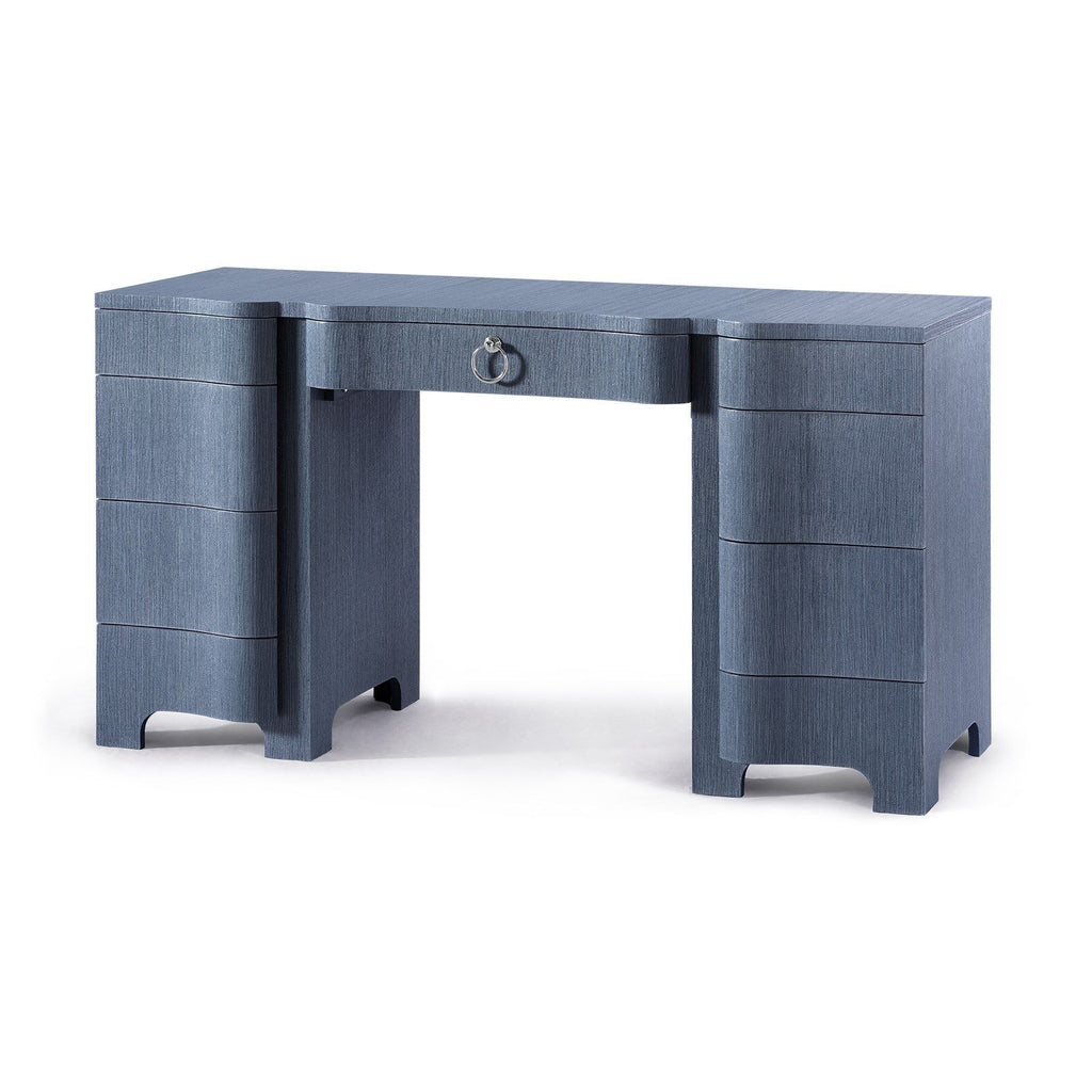 Bouquet Desk - Navy Blue