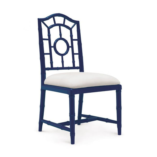 Chloe Side Chair - Navy Blue