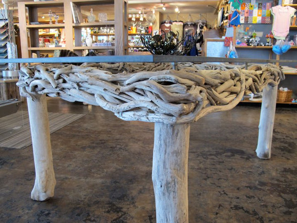 Wild Driftwood and Lucite Tables - Made to Order