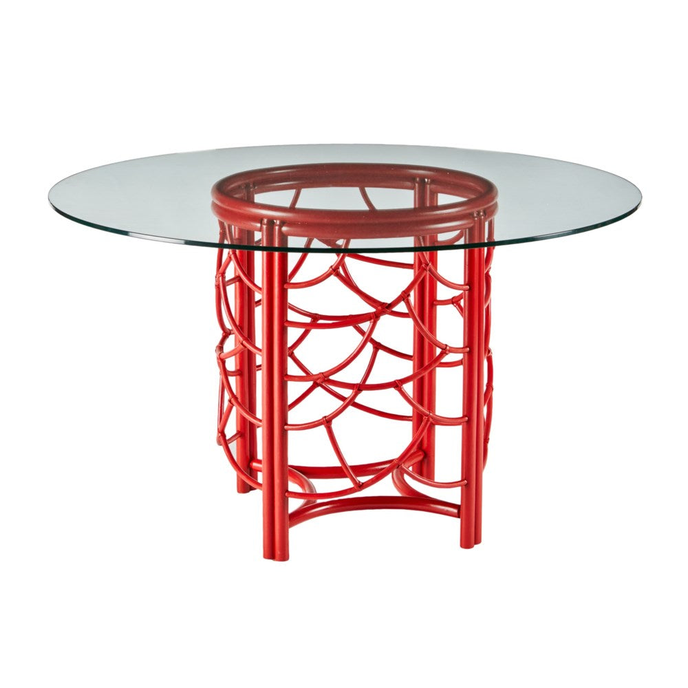 Dot Dining Table - Red