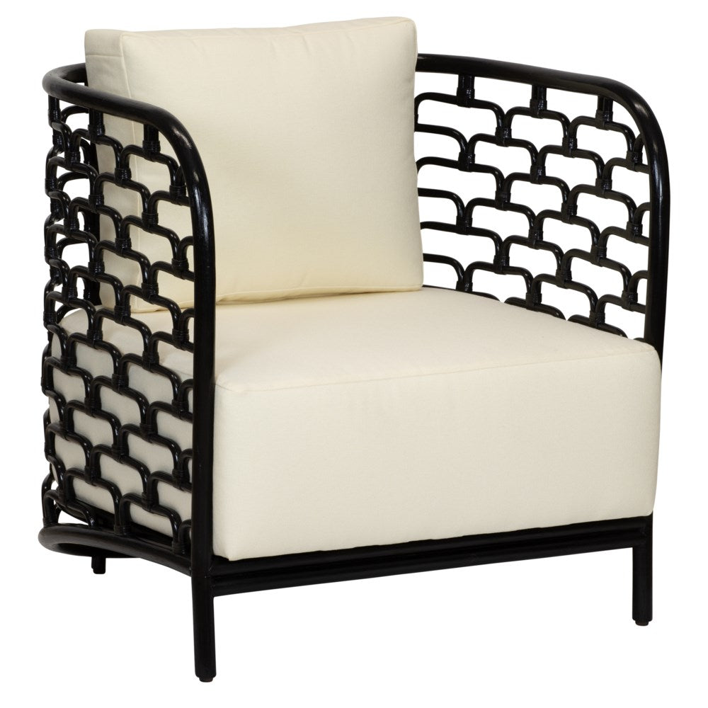 Steps Lounge Chair - Black