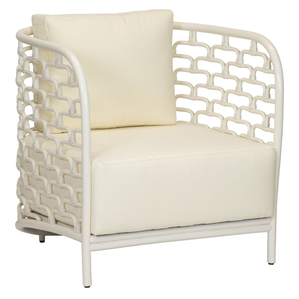 Steps Lounge Chair - Winter White