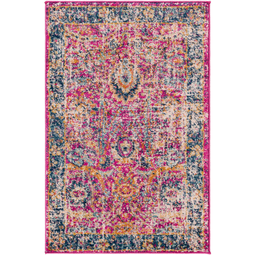 Harput Rug - Pink/Orange/Blue/Teal