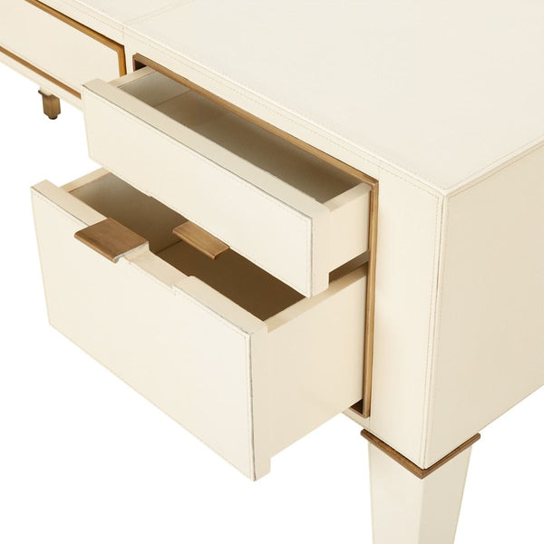 Hunter Desk - Ivory