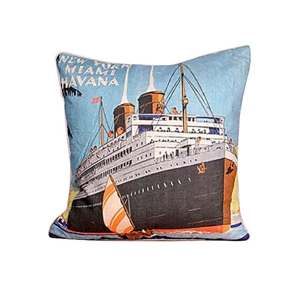 Cruise Ship Pillow